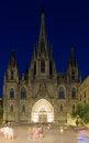 Catedral de Barcelona in night