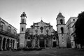 Catedral de la habana an image of the th century baroque cathedral of havana cuba Stock Photos