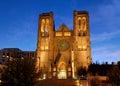 Catedral de la tolerancia en SF Fotografía de archivo