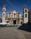 Catedral de san cristobal de la habana cuba havana january view of the seat of the cardinal archbishop of havana Stock Photo