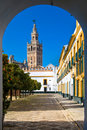 Catedral de Santa María de la Sede in Seville Royalty Free Stock Photo