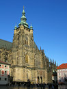 Catedral do St. Vitus, Praga, república checa Imagem de Stock Royalty Free
