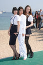 Caterina Murino,Gemma Arterton,Talulah Riley Royalty Free Stock Image