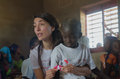 Caterina murino matam senegal november the actress talks about the children of a primary school catherine went to senegal to do an Stock Photo