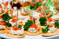 Catering food Royalty Free Stock Photo