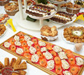 Catering food restaurant Royalty Free Stock Images