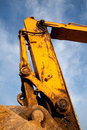 Caterpillar Excavator Stock Photography