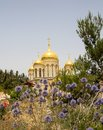 The Cathedral of All Russian Saints Royalty Free Stock Photo