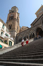 Cathedral in Amalfi, Italy Royalty Free Stock Photos
