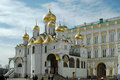 Cathedral of the annunciation kremlin moscow russia personal church s princes and tsars now acts as a museum but Stock Image