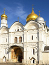 Cathedral of the archangel archangel michael moscow kremlin in russia Stock Photos
