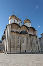 The cathedral of the assumption in moscow kremlin s russian landmarks Royalty Free Stock Image
