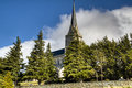 Cathedral of Bariloche, Argentina Stock Image