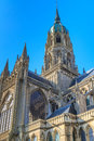Cathedral of bayeux normandy france view Stock Photography