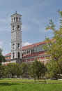 Cathedral of blessed mother teresa in pristina Royalty Free Stock Image
