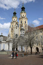 Cathedral of brixen bressanone the in south tyrol italy Royalty Free Stock Image
