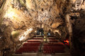 Cathedral Cave in Gibraltar Royalty Free Stock Photos