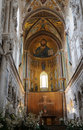 Cathedral Cefalu Stock Photography