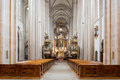Cathedral chapter zwettl dome in lower austria Stock Photography