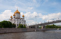 Cathedral Christ  Savior. Moscow, Russia Royalty Free Stock Photo