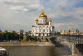 Cathedral of christ the savior in moscow russia Stock Photography