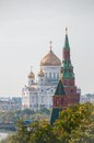The Cathedral of Christ the Savior and Patriarchal Royalty Free Stock Photo