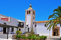 Cathedral Church  of Betancuria in Fuerteventura Royalty Free Stock Photo