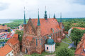 Cathedral church in frombork famous where copernicus lived and died Stock Photography