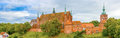 Cathedral church in frombork famous where copernicus lived and died Royalty Free Stock Photo