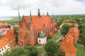 Cathedral church in frombork famous where copernicus lived and died Stock Image