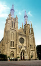 Cathedral Church of Indonesia Royalty Free Stock Photos