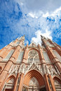 The Cathedral in the city of La Plata Royalty Free Stock Photos