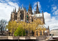Cathedral of Cologne in Germany Royalty Free Stock Photo