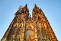 Cathedral of cologne the in germany Royalty Free Stock Photos