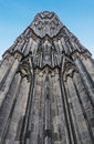 The cathedral of cologne tower Royalty Free Stock Photo