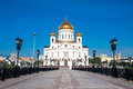 Cathedral of crist the savior in moscow russian federation Royalty Free Stock Images