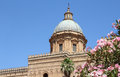 Cathedral cupola in palermo italy Stock Photos