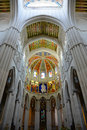 Cathedral de la almudena madrid spain interior of of saint mary the royal of is a catholic in Stock Images