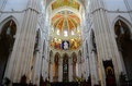 Cathedral de la almudena madrid spain of saint mary the royal of is a catholic in Royalty Free Stock Photography