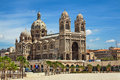 Cathedral de la major in marseille france july one of the main catholic on july Stock Images