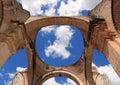 Cathedral de Santiago is a Roman Catholic church, Antigua Guatemala Royalty Free Stock Photo