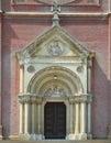Cathedral in djakovo imposing building the center of djaki hrvatska gradnju began bishop josip juraj strossmayer was Stock Photos