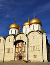 Cathedral of Dormition, Moscow Kremlin Stock Images