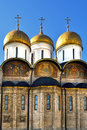 Cathedral of Dormition in Moscow Kremlin, Russia Stock Photography