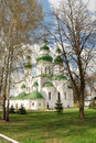 Cathedral in eletskiy assumption monastery in chernigov ukraine Royalty Free Stock Photography