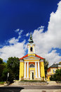 Cathedral in Frantiskovy Lazne, Czech Republic Royalty Free Stock Photo