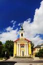 Cathedral in Frantiskovy Lazne, Czech Republic Royalty Free Stock Photo