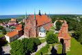 Cathedral in Frombork, Poland Stock Image