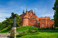 Cathedral in frombork poland a place where he worked copernicus Royalty Free Stock Image