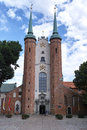 The cathedral in gdansk oliva poland Royalty Free Stock Photo